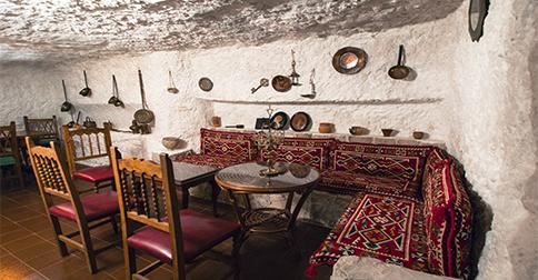 Alojamientos en cuevas en Alcalá del Júcar