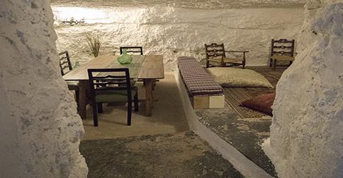 Casa rural en cuevas en Alcalá del Júcar