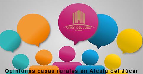 Opiniones casas rurales en Alcalá del Júcar