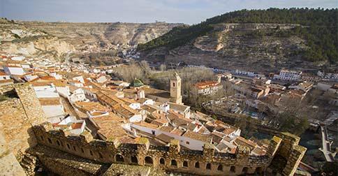 Casas rurales para parejas en Alcalá del Júcar